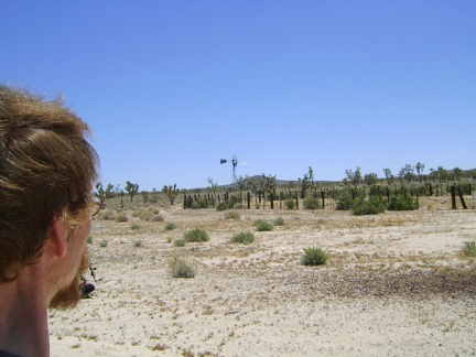 The road eventually leaves the rough cinder area, crosses some light sand, then I find myself at a corral (Water Tank 3)