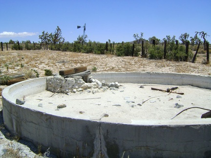 Tank 3 is dry, like most of the old cisterns I've seen in Mojave National Preserve