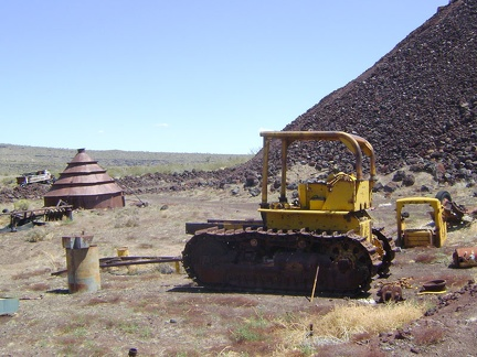 More remnants at Aiken Mine, Mojave National Preserve