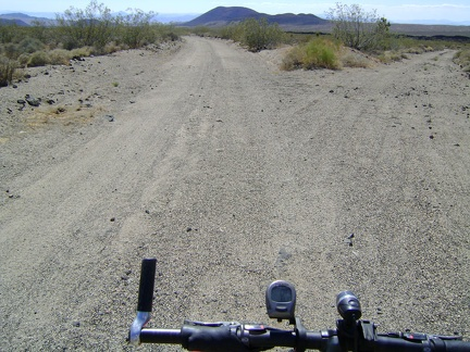 I reach another fork in the road and follow the lesser right fork, hoping to locate the trail to the Lava Tube