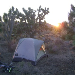 Day 15: Pachalka Spring to Button Mountain, Mojave National Preserve via Aiken Mine Road