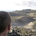 I make it almost to the top of the lava and am taking in the excellent views across the Indian Springs area