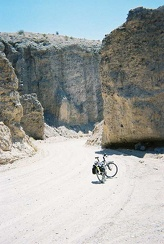 Farther into the canyon on China Ranch Road