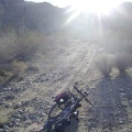 This final piece of the road to Coyote Springs is a little rocky, but has fresh tire tracks