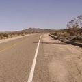 After ten miles, Kelbaker Road bends sharply away from civilization