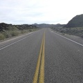 Back on the pavement of Kelbaker Road, I begin the slow, easy climb up toward Jackass Canyon Road