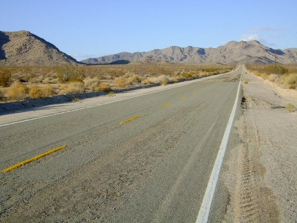 Heading toward the Marl Mountains as I climb Kelbaker Road out of Kelso, Mojave National Preserve