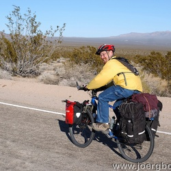 Mojave bicycle-camping trips