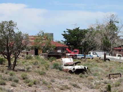 It might be interesting to count how many old cars and trucks sit on this Barnwell property!