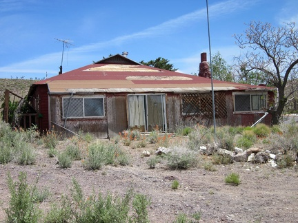 This old house at Barnwell, Mojave National Preserve looks like it was once well cared for