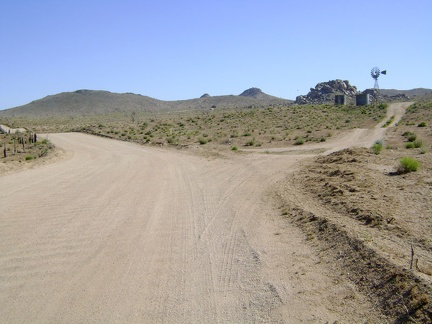 After climbing out of Cedar Canyon Road, Black Canyon Road reaches the plateau of Round Valley