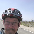 I keep pedalling slowly up Kelbaker Road, Mojave National Preserve