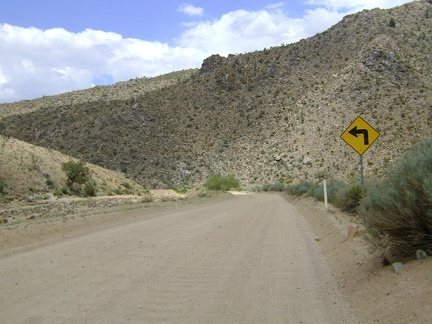 I follow Cedar Canyon Road westward for a few miles, which is also mostly downhill