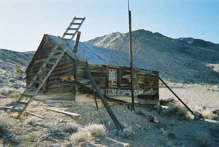 The Lost Burro Mine's cabin