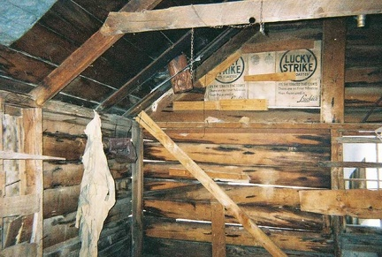 Inside the Lost Burro Mine's cabin