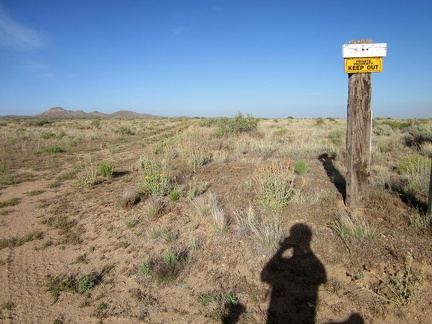 There's a lot of private property in some parts of Mojave National Preserve