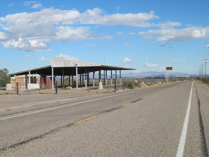 Also on Route 66 near Daggett is an old California Agricultural Inspection Station, long abandoned