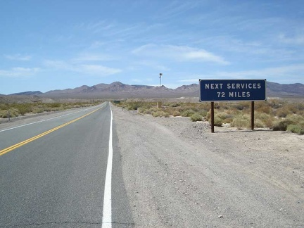 I begin the gentle westward climb up Highway 178 into Death Valley National Park