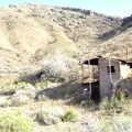 The outhouse here at Tough Nut Mine is a concrete structure
