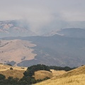 Smoke over the Diablo Range near Calaveras Reservoir, August 2020