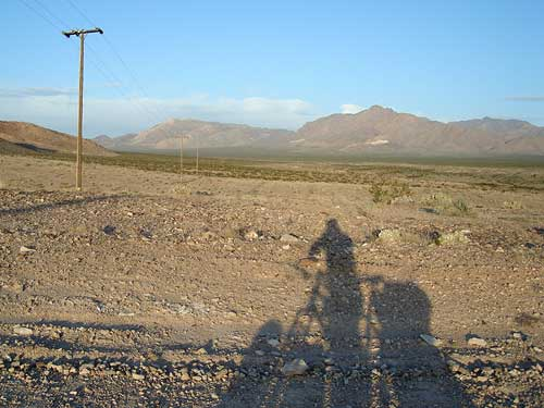 Furnace Creek Road To Tecopa Hot Springs Bicycle Camping